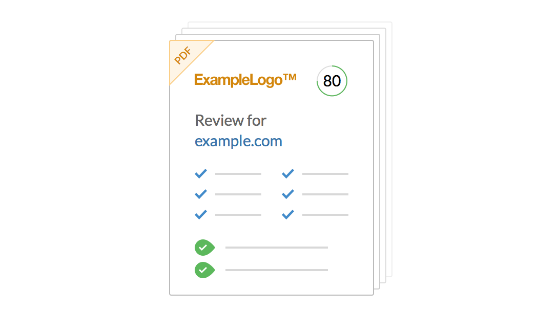 Download Reviews as Branded PDFs